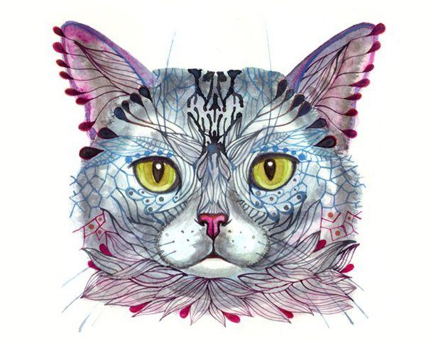 Art we heart: les magnifiques illustrations de minou d`ola liola