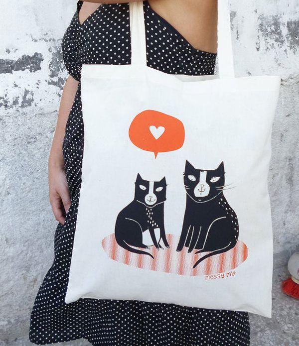 Les illustrations de chat cool de Daphne sivetidis profitent aux féraux grecs