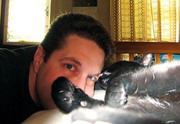 Apprenez à connaître un gars de chat: le chanteur robin radus de