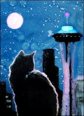 Refuge de Seattle pour donner de la nourriture pour chat aux nécessiteux