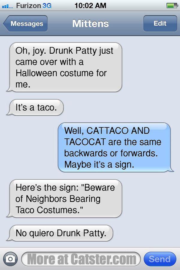 Textes de mitaines: l`édition d`Halloween
